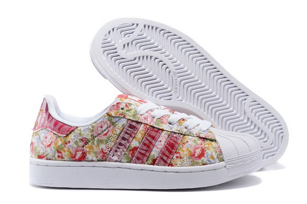 Womens Adidas Superstar Flowers Pink Switzerland